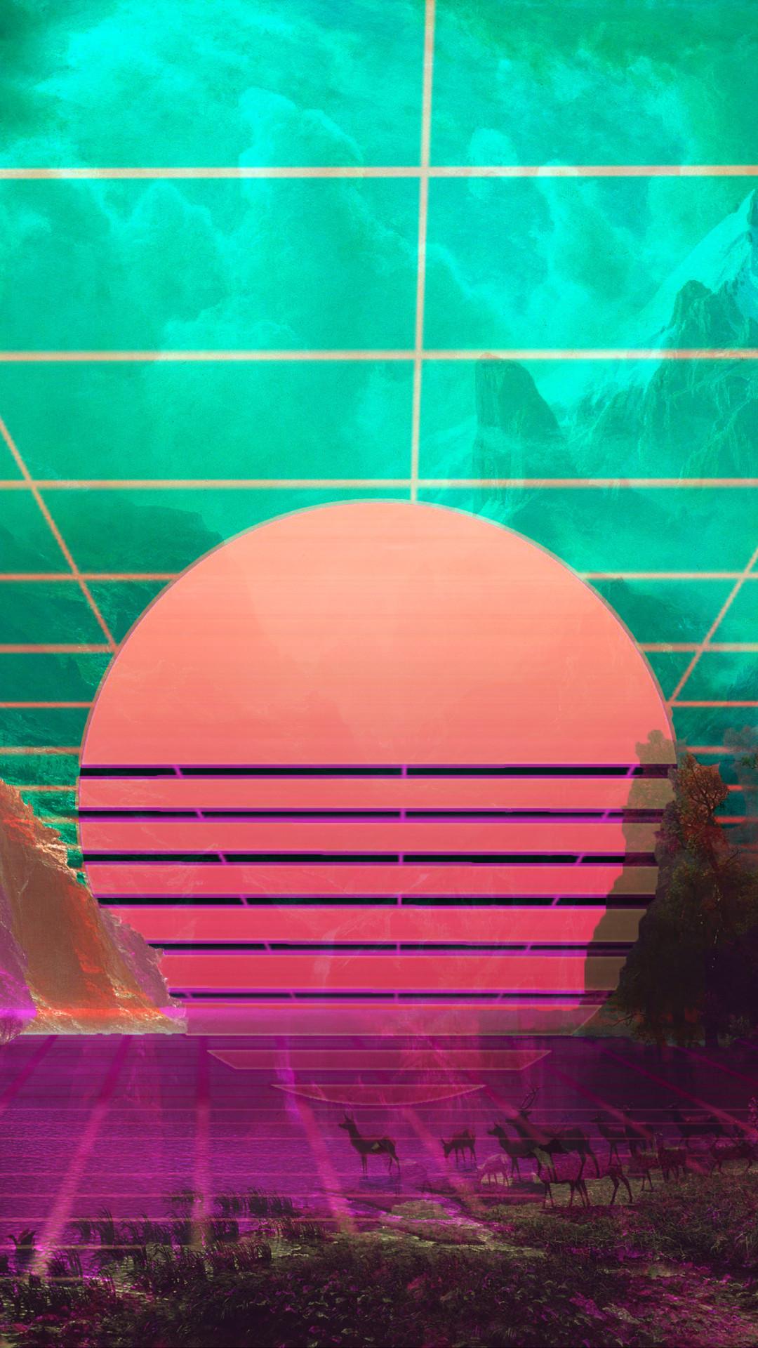 Vaporwave 4k Wallpaper Full Hd