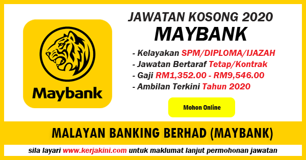 maybank job 2020