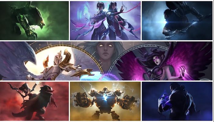 All Login Screens & Music | Season 2019 - League of Legends