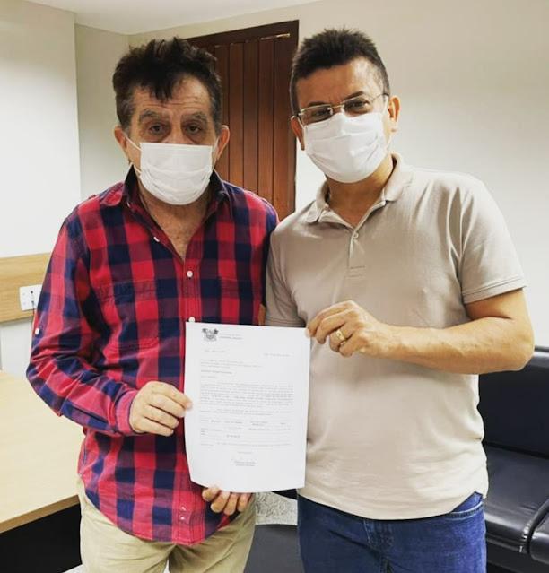 Prefeito Juninho Alves adquire para Caraúbas emenda parlamentar de R$ 200 mil para ser aplicada na Saúde