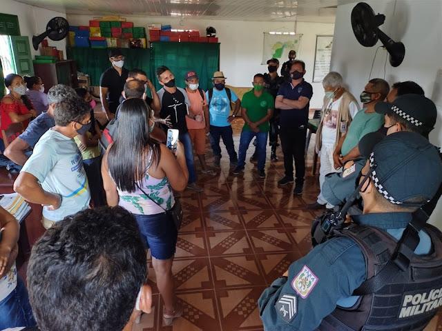 MPF pede abertura de inquérito na Polícia Federal por suspeita de invasão de madeireiros ao STTR, em Santarém