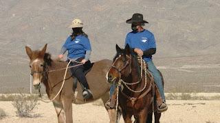 New volunteer mounted horse patrol at Tule Springs National Monument