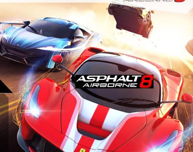 لعبة سباق الحرة: Asphalt 8
