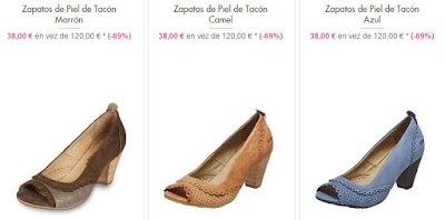 zapatos tacón DK