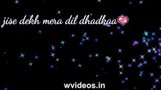 Jise Dekh Mera Dil Dhadka Whatsapp Status Love Video