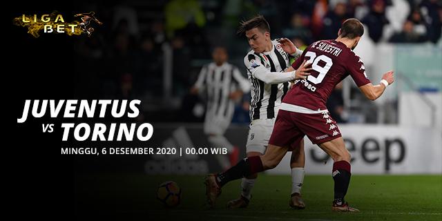 PREDIKSI PARLAY JUVENTUS VS TORINO MINGGU 6 DESEMBER 2020