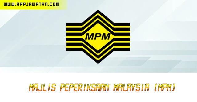 Jawatan Kosong di Majlis Peperiksaan Malaysia (MPM).