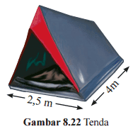 Sebuah tenda pramuka www.jawabanbukupaket.com