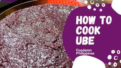 How to cook ube halaya
