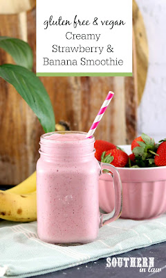 Creamy Strawberry Banana Smoothie Recipe