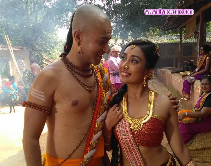 A still from show Tenali Rama