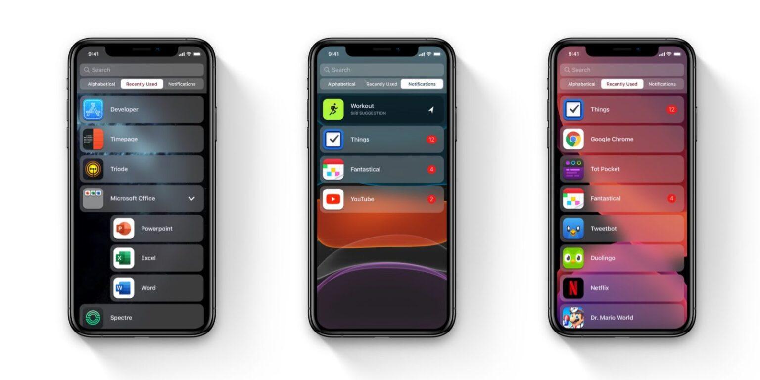 iOS 14 rò rỉ ảnh chụp màn hình: Nhiều tùy chọn hình nền hơn, có thể thêm widget vào màn hình chính