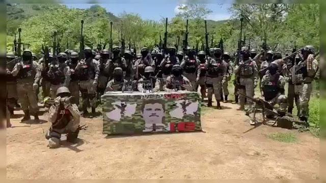 Continua ola ofensiva del CJNG en Tierra Caliente Michoacan, anuncia incursión en 3 frentes, Tepalcatepec, Buenavista y Acahuato hoy martes.