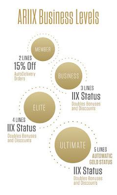 Ariix Business Levels