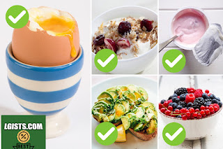 Homemade brunch nutrition and fat reduction