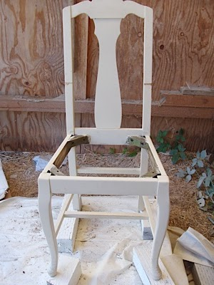 Queen Anne Styled Chair Before and After & Queen Anne Styled Chair Before and After | An Oregon Cottage