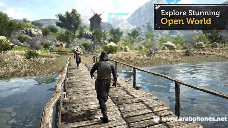تحميل لعبة The Evil Lands مهكرة للاندرويد apk + obb