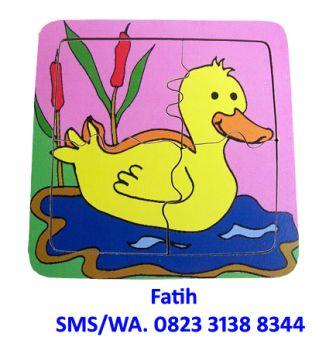 Mainan Puzzle Duck