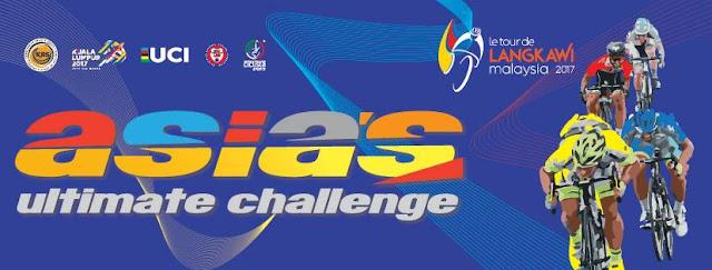 Jadual Laluan dan Keputusan Perlumbaan LTDL 2017 Le Tour de Langkawi