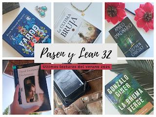 Pasen y lean Vol. XXXII : Últimas lecturas del verano 2021