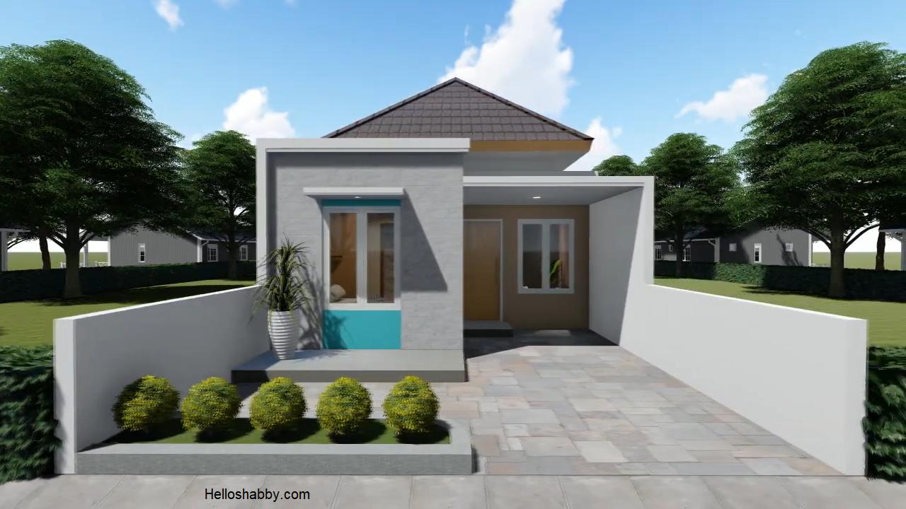 Desain Rumah Minimalis 6 X 15 M Dengan 3 Kamar Tidur Dan Desain Interior Terbaru Dan Nyaman Helloshabby Com Interior And Exterior Solutions