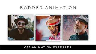 Border Animation using html css