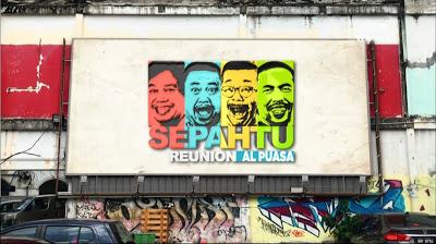 LIVE STREAMING - Sepahtu Reunion Al-Puasa 2021 Episod 5