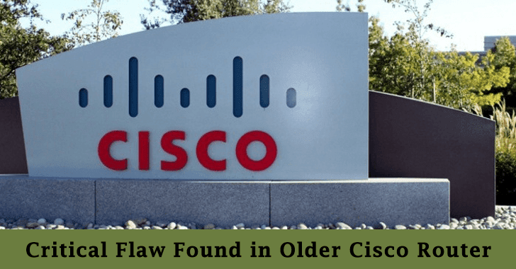 Older Cisco SMB Routers