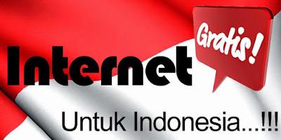 Internet Gratis di seluruh Indonesia BUKAN Hoax!