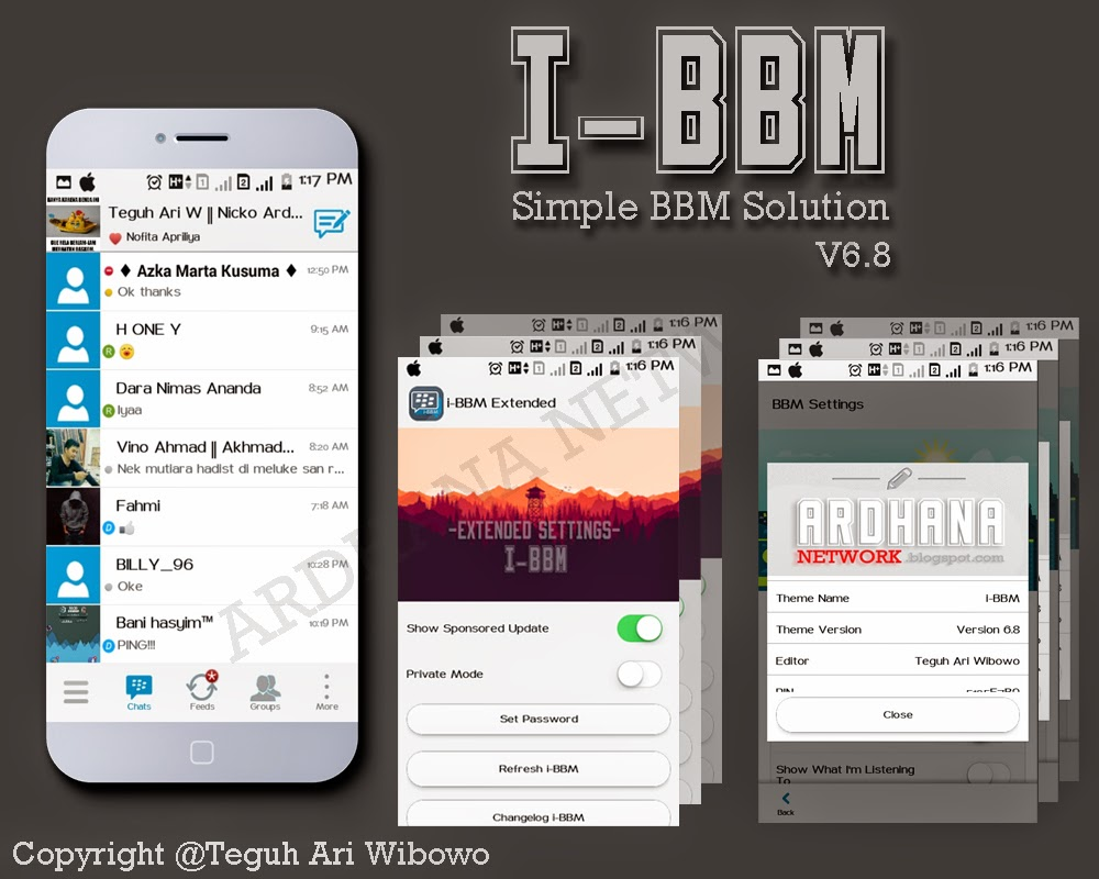"i-BBM V6.8 ""Simple BBM Solution"""