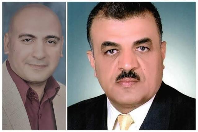 محمد الشيمي يهنئ ماهر عبد الخالق بمناسبة ترقيتة وكيلا لتعليم سوهاج