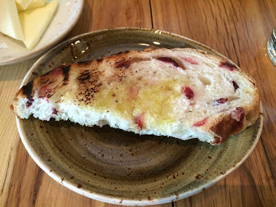 ... butter or jelly, and bread has cranberries. It is a little sweet, with