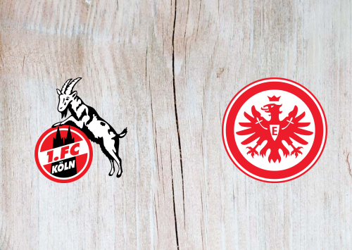 Köln vs Eintracht Frankfurt -Highlights 20 June 2020