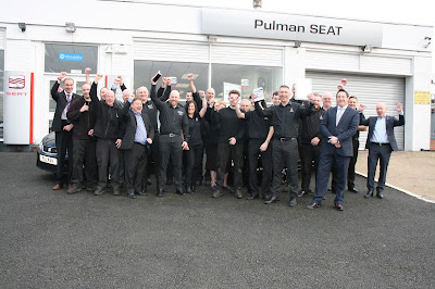 seat team celebrating