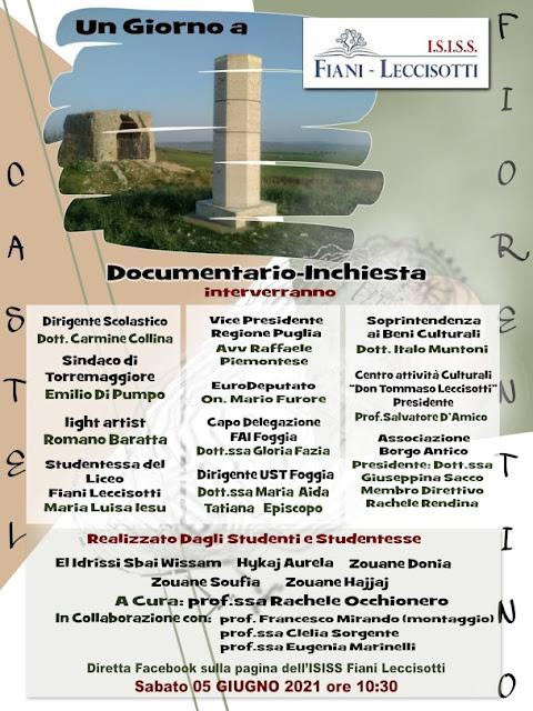 Torremaggiore: Castel Fiorentino, resta al centro dell'attenzione della città e degli studenti