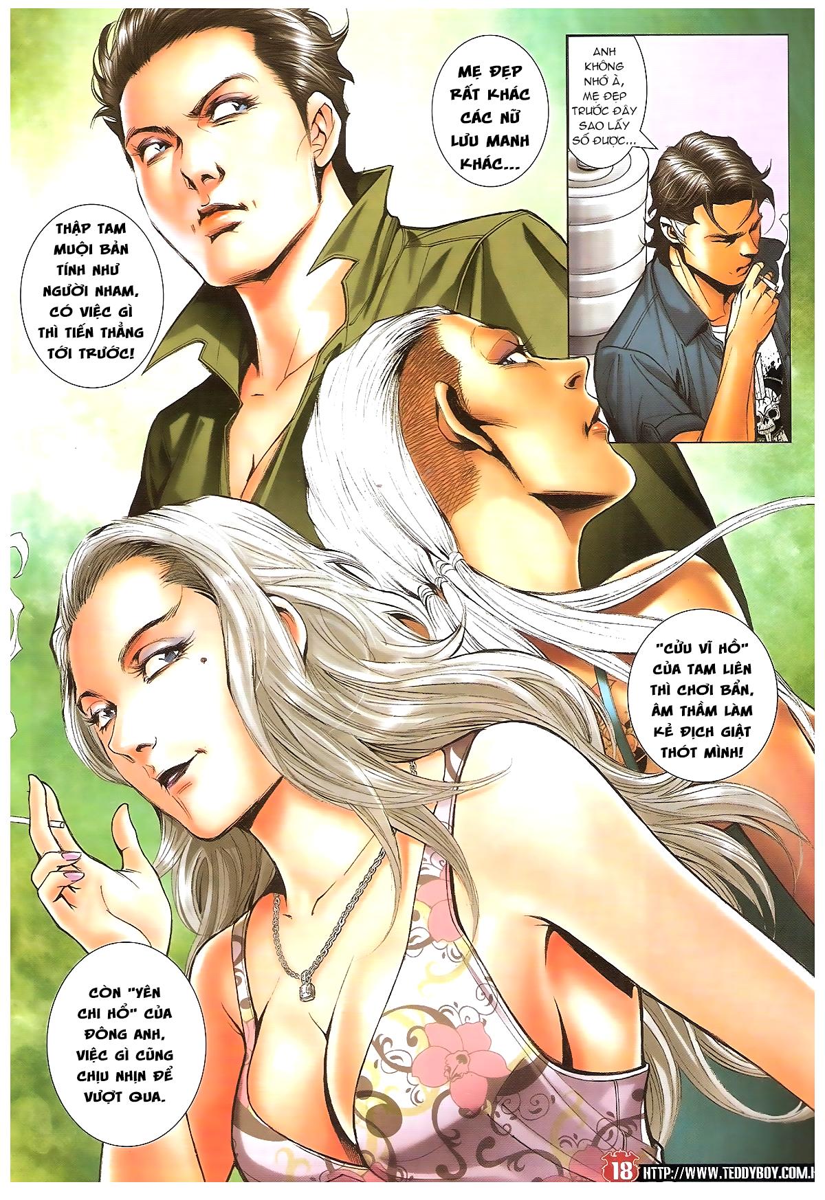 Người Trong Giang Hồ chapter 1641: lão tưởng trang 17