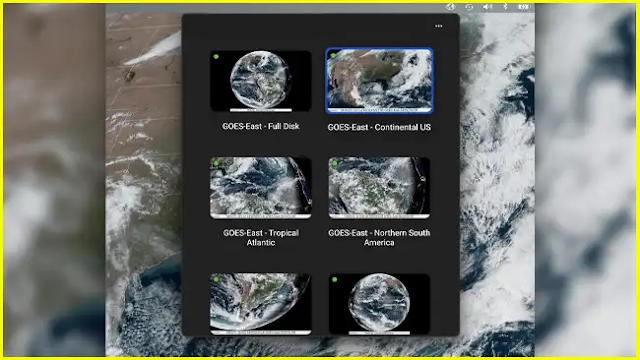 SpaceEye - Live satellite images as wallpaper for Windows or Mac