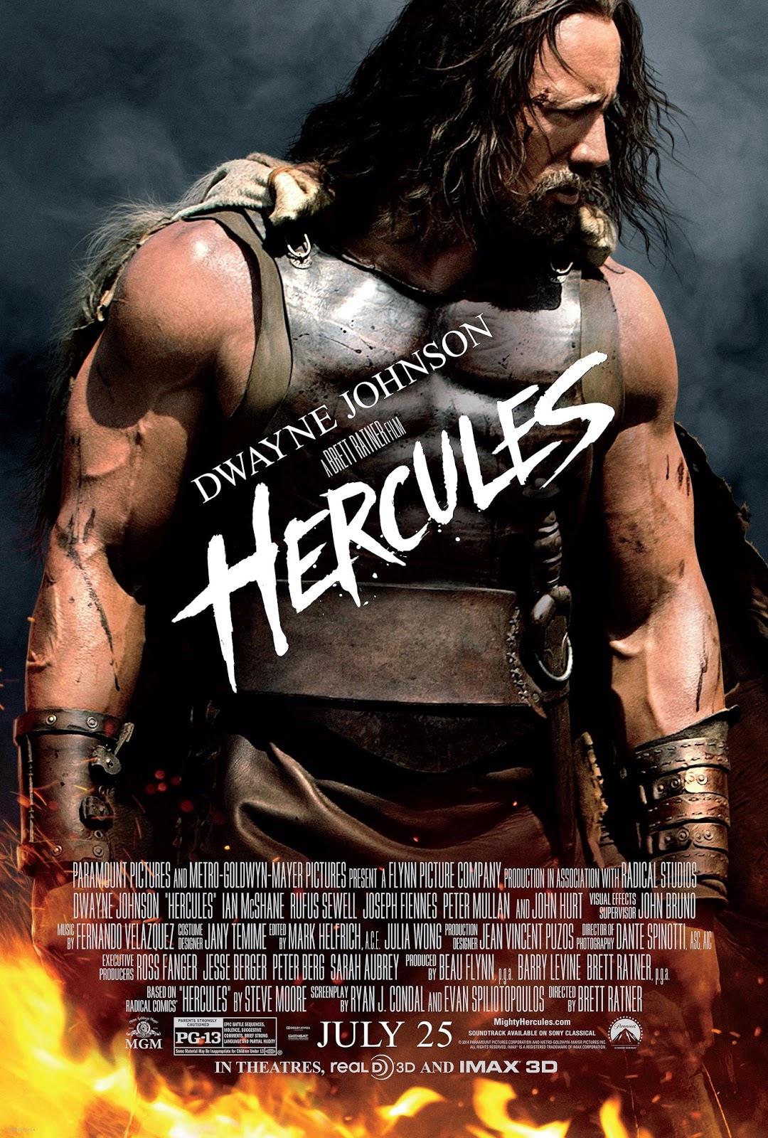 Jadwal Film Bioskop21 Sinopsis Hercules 2014