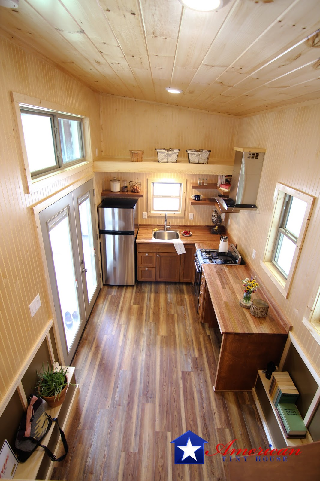 Tiny House Town Houston From American Tiny House