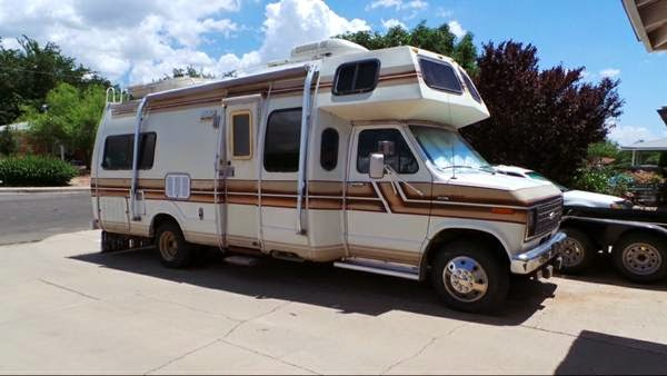 Used Rvs 1983 Brougham Motorhome For Sale For Sale By Owner