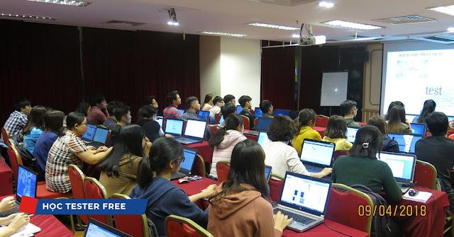 Lớp học Kiểm thử phần mềm căn bản miễn phí tại NIIT – ICT Hà Nội.