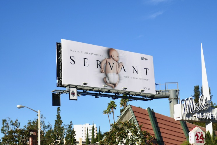 Servant Apple TV season 1 billboard