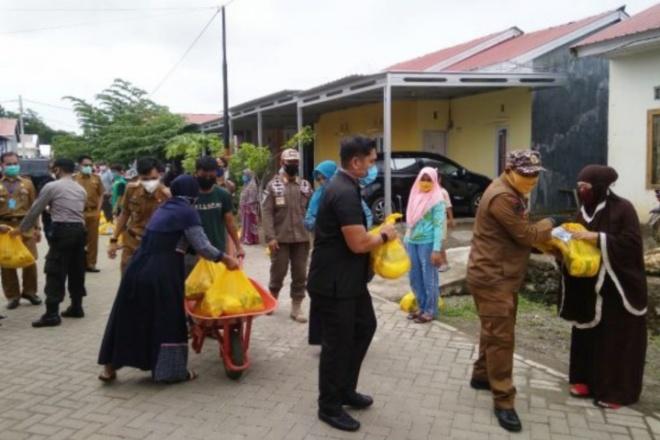 2000 Paket Bantuan Pemkab Bone Disebar Untuk Wilayah Terdampak Corona, Di Sini Lokasinya