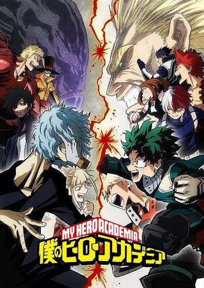 تقرير انمي Boku no Hero Academia s3 (الموسم الثالث)