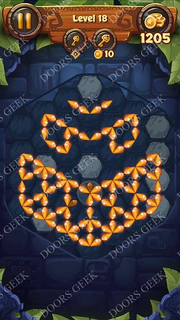 Gems & Magic [Titanium] Level 18 Solution, Walkthrough, Cheats
