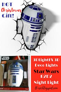 Star Wars R2D2 Night Light