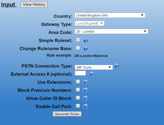 Using the Lync Optimizer to Configure a Single Multi-Country SIP Trunk