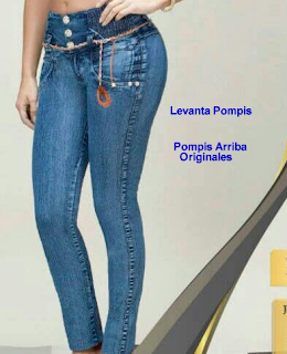 Jeans Push Up Climax Ciclón Frida Pantalones colombianos en México
