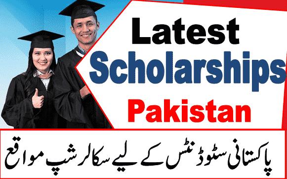 Scholarships for pakistani studens 2020-21