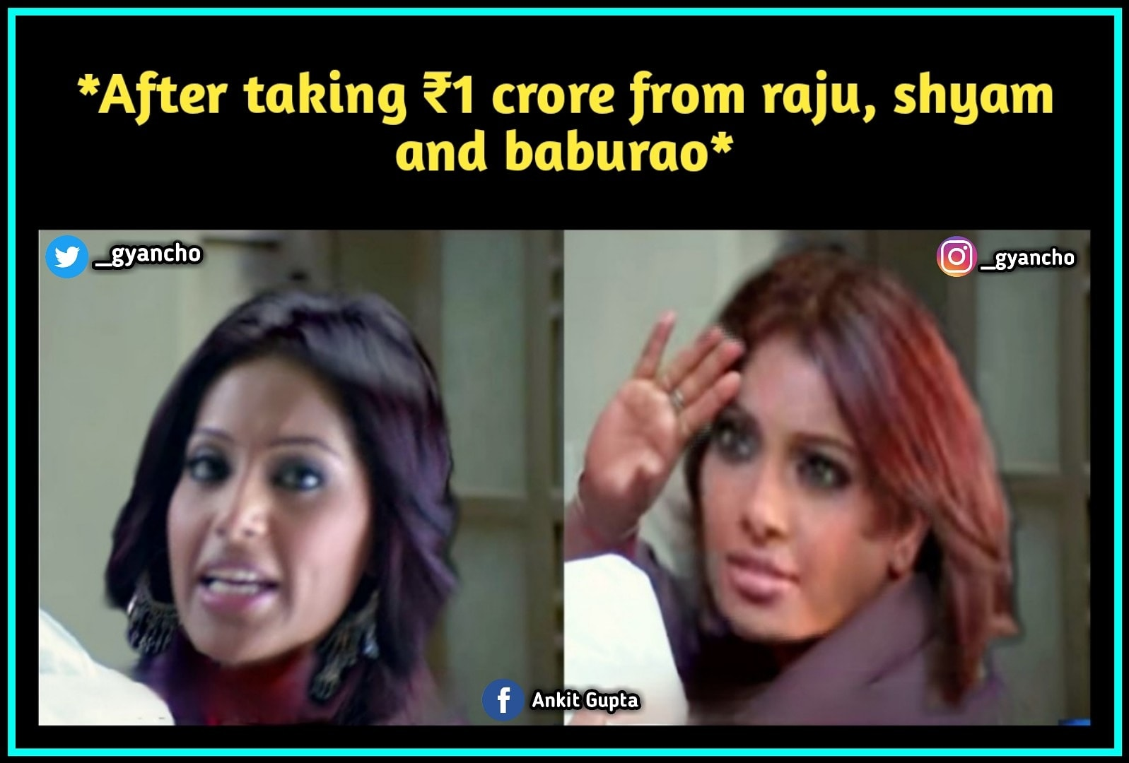 Bakchod Baba : Bipasha Basu Funny Meme
